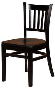 Black Verticalback Dining Chair