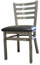 Load image into Gallery viewer, Clear Coat Ladderback Dining Chair