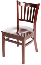 Load image into Gallery viewer, Mahogany Verticalback Dining Chair