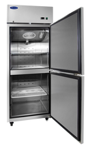 Load image into Gallery viewer, Two Divided Door Freezer | Right Hinge | Top Mount | Atosa | MBF8007GR