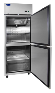 Two Divided Door Freezer | Right Hinge | Top Mount | Atosa | MBF8007GR