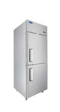 Load image into Gallery viewer, Two Divided Door Refrigerator | Top Mount | Atosa | MBF8010GR