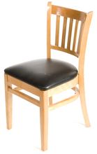 Load image into Gallery viewer, Natural Verticalback Dining Chair