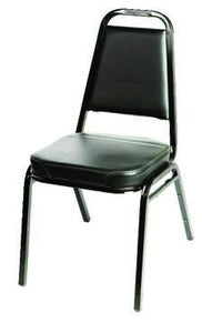 Stack Chairs with Black Frame