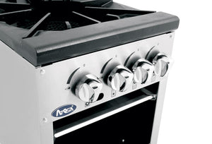 Low Double Stock Pot Stove | Cook Rite | ATSP-18-2L