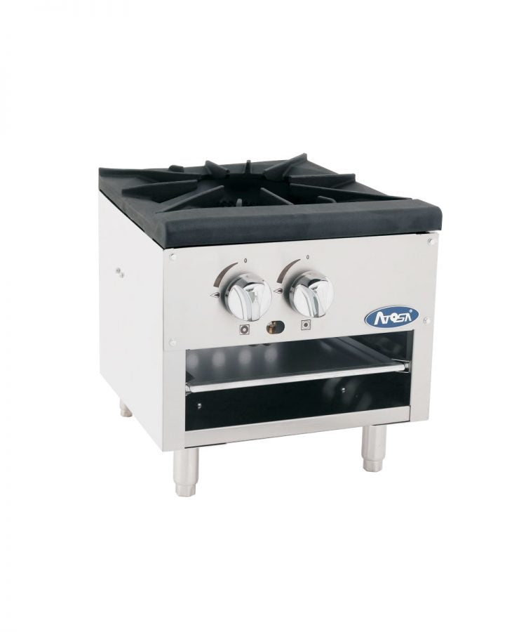 Low Single Stock Pot Stove | Cook Rite | ATSP-18-1L