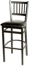 Load image into Gallery viewer, Verticalback Metal Frame Barstool
