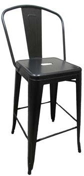 XL Brewhouse Painted Barstool with Back