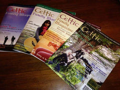 """Discount 4+ Issues - Full Page Ad in Celtic Family Magazine 7.5""""x10"""""""