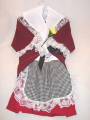 Kids Welsh Traditional Dress
