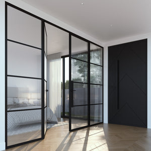Zen Steel Frame Glass Doors and Windows – Internal Only