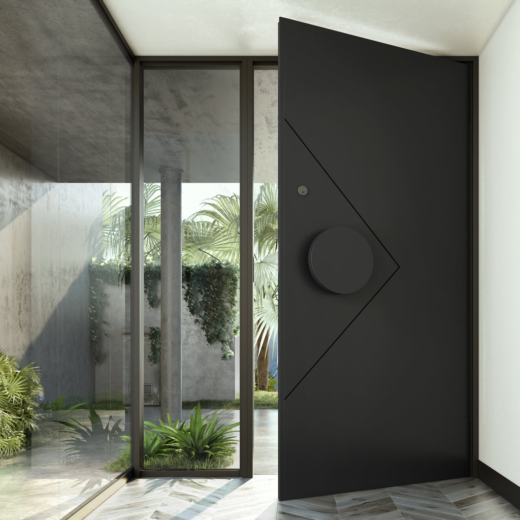 Zen Iron Hinge Door