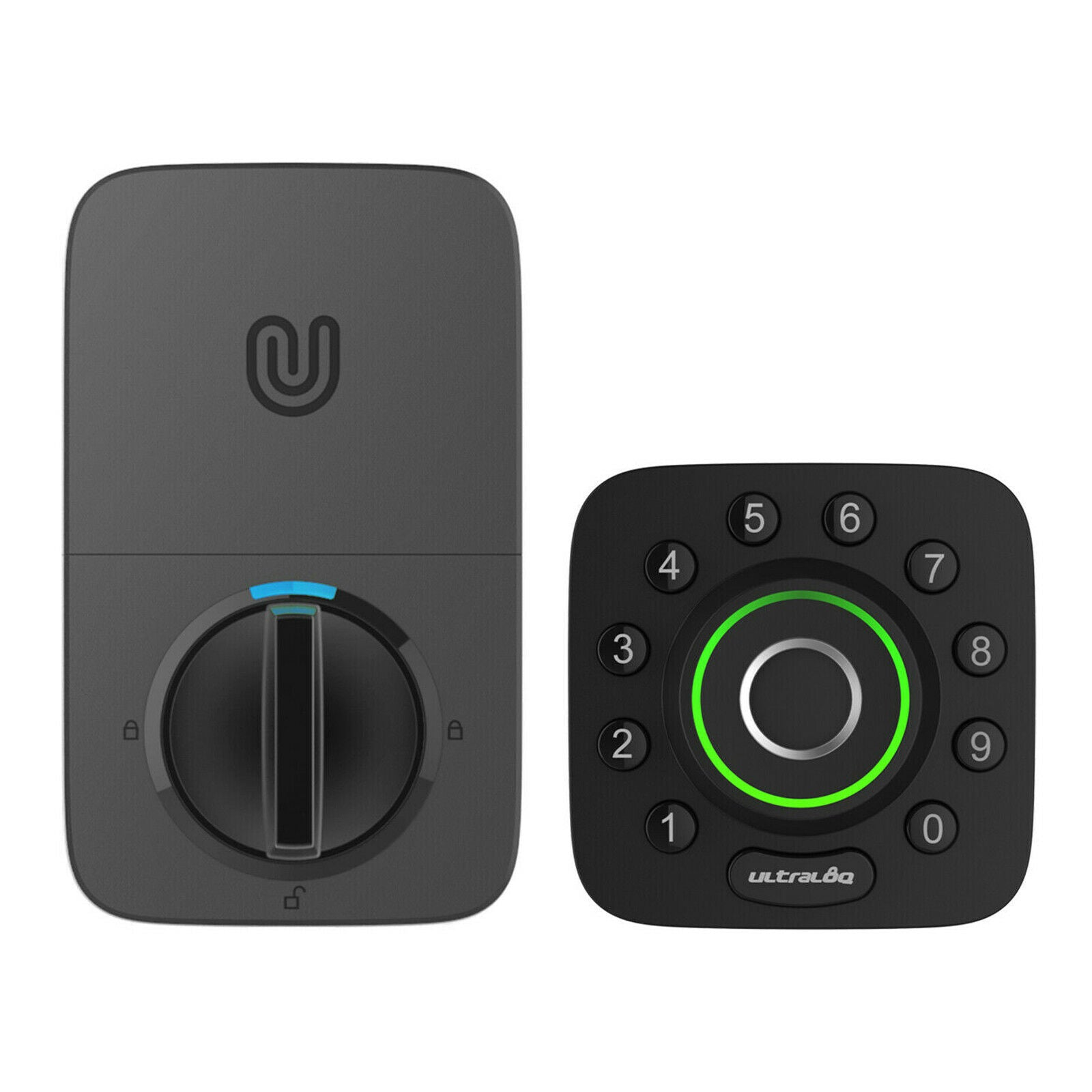 Ultraloq U‐Bolt Pro Smart Deadbolt + Wifi Bridge: Bluetooth Enabled Fingerprint and Keypad Smart Lock