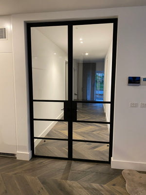 Zen Steel Frame Glass Doors and Windows