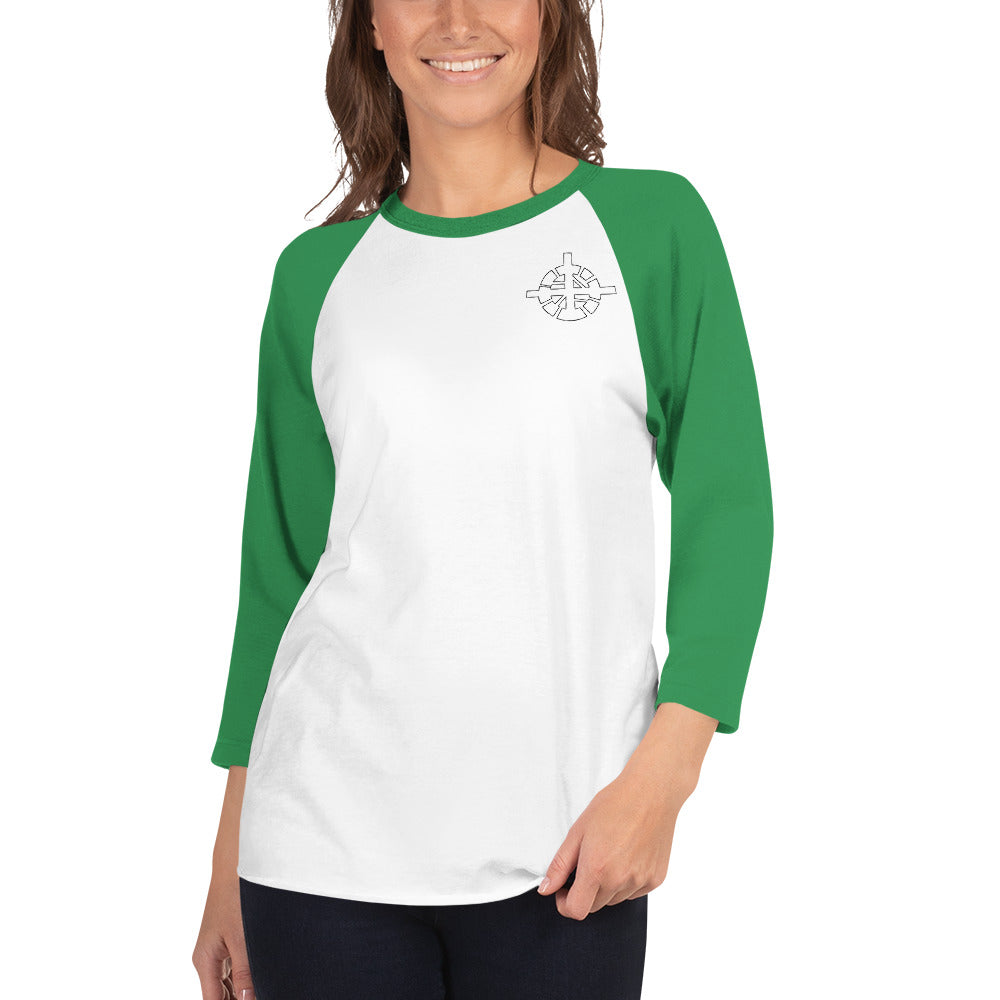 Orion Customs 3/4 sleeve raglan shirt