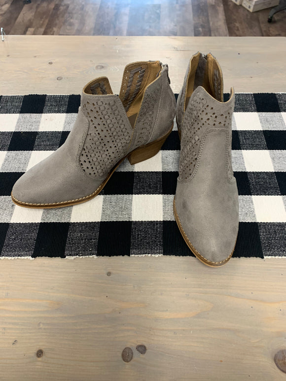 Katalla grey booties