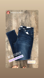 Kancan Curvy mid-rise super skinny jeans