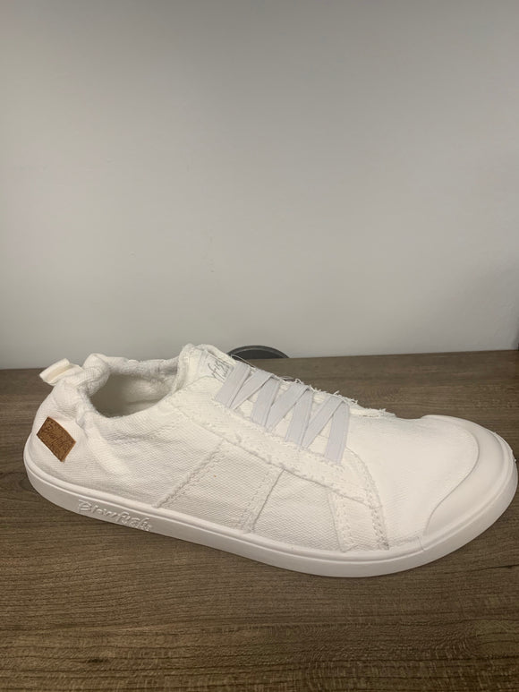 Blowfish white tennis shoe