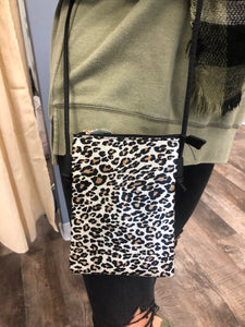 Cheetah Phone Crossbody