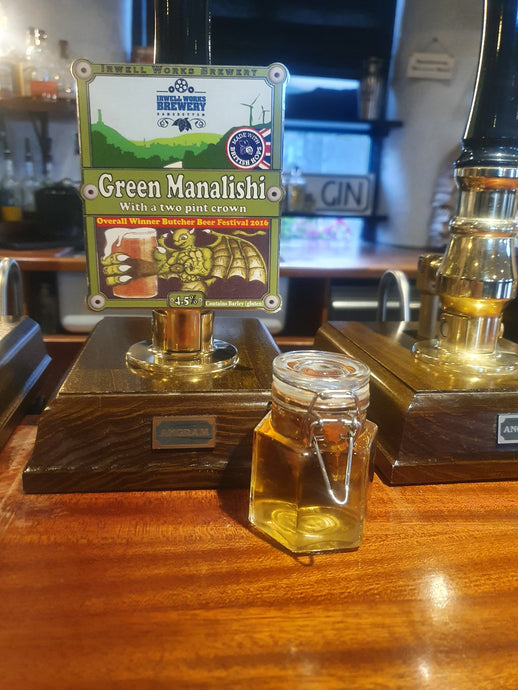 Green Manalishi (4.5%) - Mini Keg / Bag in Box