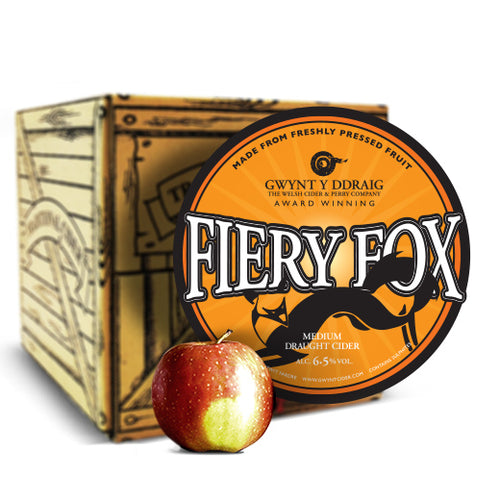 Firey Fox Cider (6.5%) - Bag-in-Box