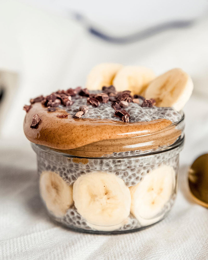 Banana & Almond Butter Chia Pudding