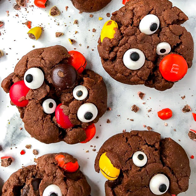 Bees Knees Monster Cookies