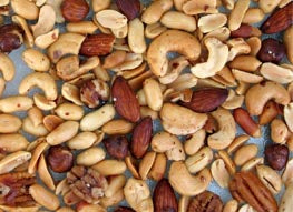 Dried All Natural Nuts