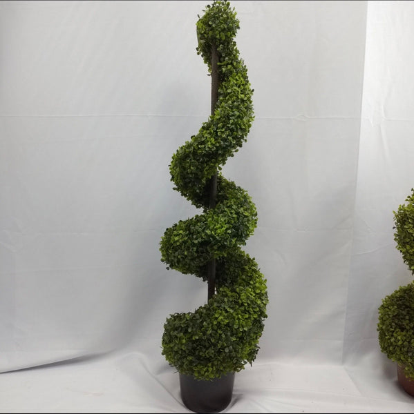 Artificial Boxwood Spiral Plant 80cm
