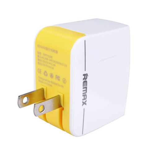 Remax 3.4A Dual USB Universal Travel Charger