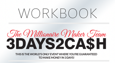 3 Days to Cash Workbook