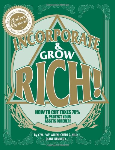 Incorporate & Grow Rich Book