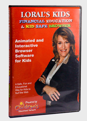 Financial Education & Kid Safe Browsers CD