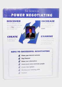 How to Achieve Success by Negotiation