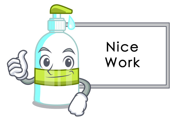 Disinfectant spray recipe is complete - Culinary Solvent