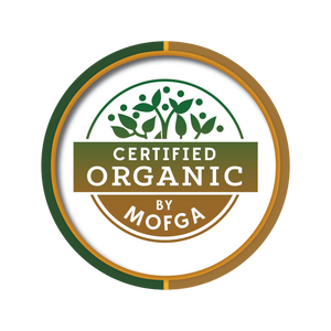certified organic perfumers alcohol MOFGA logo - culinary solvent