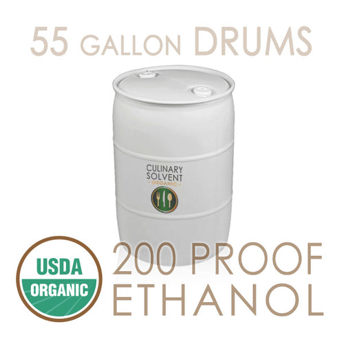 Bulk 55 Gallon Drums Organic 200 Proof Food Grade Ethanol