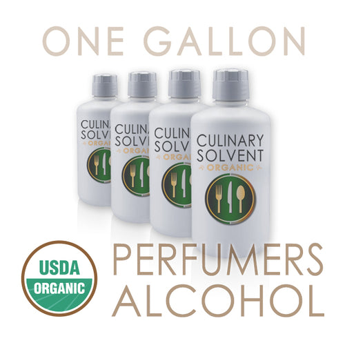 buy 1 gallon perfumers alcohol - Culinary Solvent