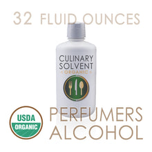 "Load image into Gallery viewer, 1 Quart - Organic 100% Ethyl ""Perfumers Alcohol"" by Culinary Solvent™"