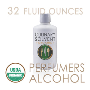 "1 Quart - Organic 100% Ethyl ""Perfumers Alcohol"" by Culinary Solvent™"