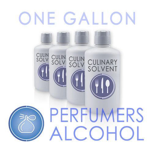 Buy 1 gallon perfumers alcohol here - culinary solvent