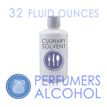 "Load image into Gallery viewer, 1 Quart - 100% Ethyl ""Perfumers Alcohol"" by Culinary Solvent™"