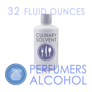 "1 Quart - 100% Ethyl ""Perfumers Alcohol"" by Culinary Solvent™"