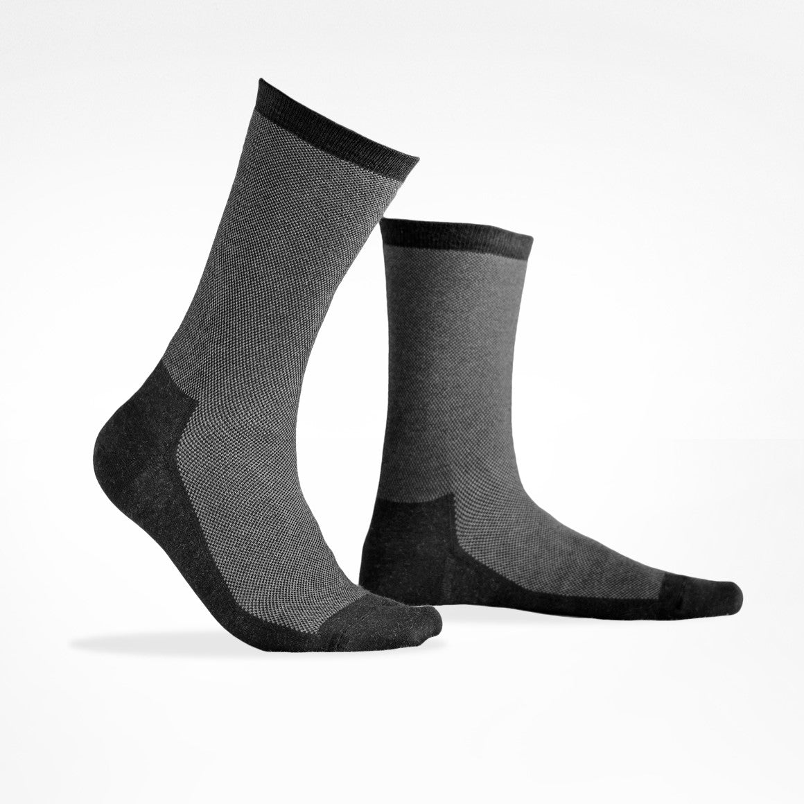 Silver Socks - 2 Pairs,  Original Calf Length - Sweat Guard Footcare