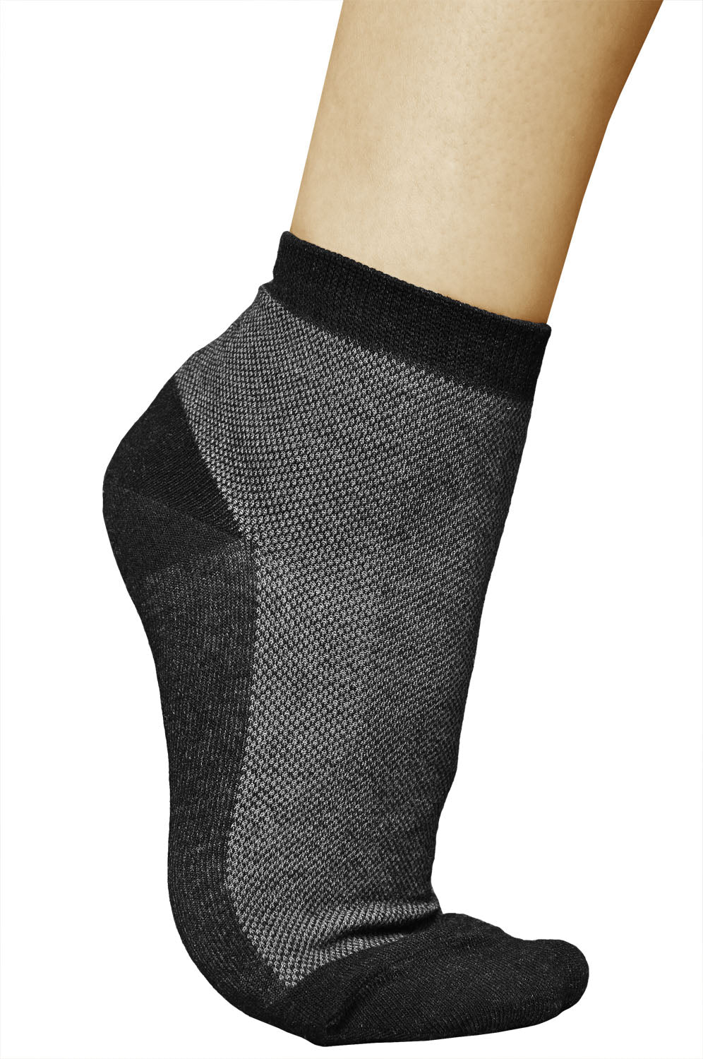 Sweat Guard 5% Silver New Ankle Socks - 2 Pairs - Sweat Guard Footcare