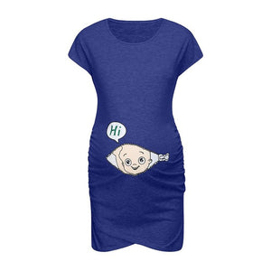 Cartoon Maternity Dress