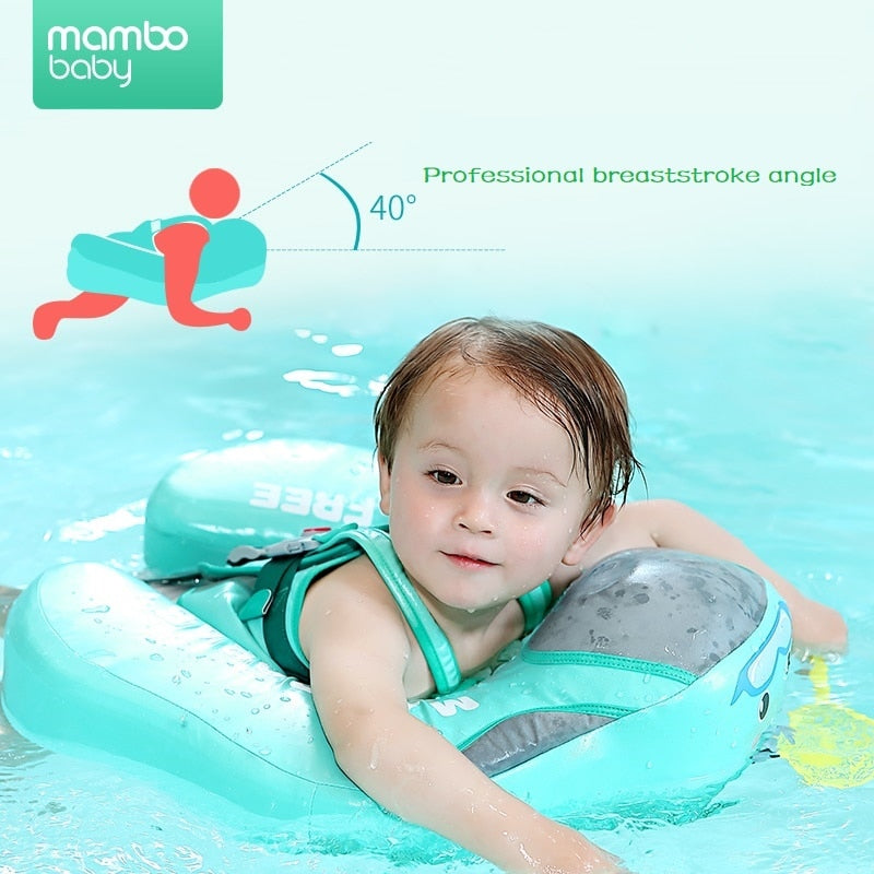 Inflatable Waterproof Baby Swimming Floater