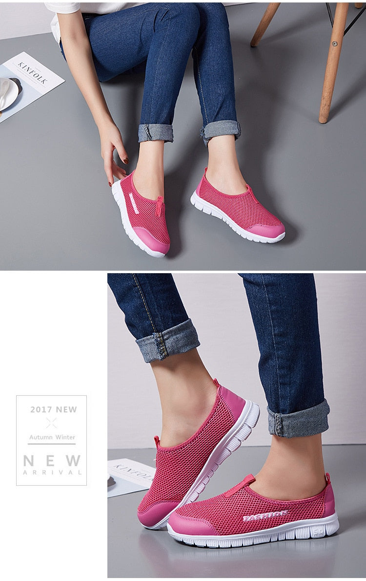Air Mesh Walking Shoes