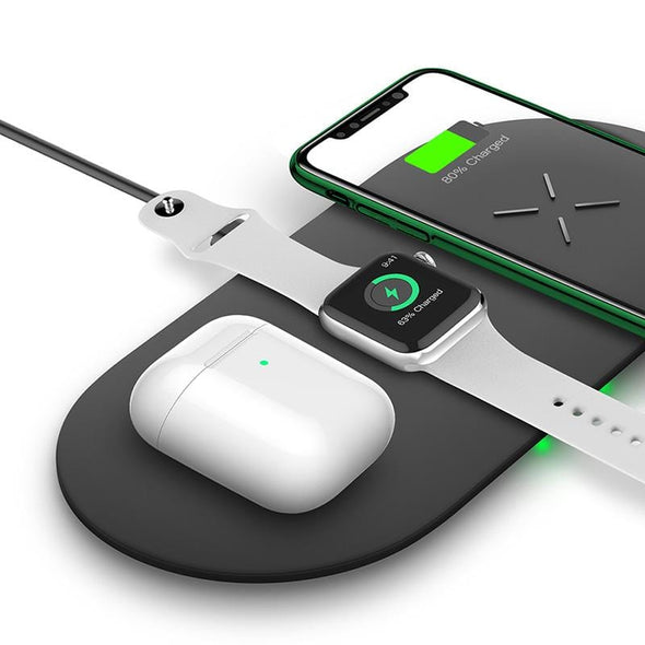InfinaCore 20W AnyCharge Wireless Fast Charging Pad