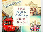 2 in 1: English & German for Beginners Course Bundle!